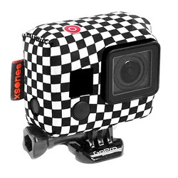 Xsories TuxSedo Neoprene Cover Fits for all GoPro - Checkers (TXSD3A810)