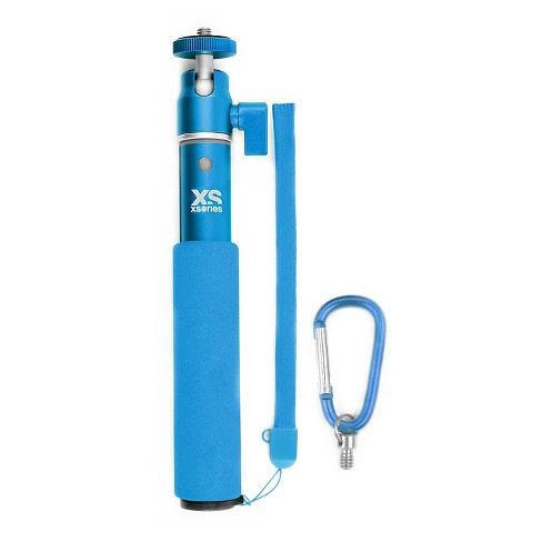 Xsories U-Shot Monochrome Extendable Camera Pole with GoPro Mount - Blue (USHM3A004) - image 1 of 3