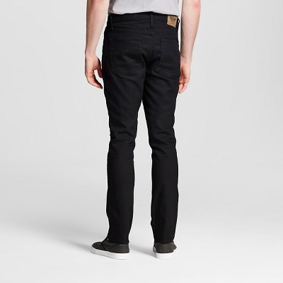 Men's Slim Fit Jeans Black 42x30 - Mossimo Supply Co.