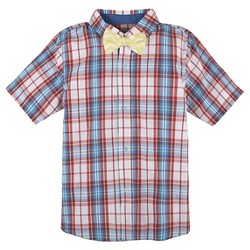 Toddler Boys' Button Down Shirt with Bow Tie