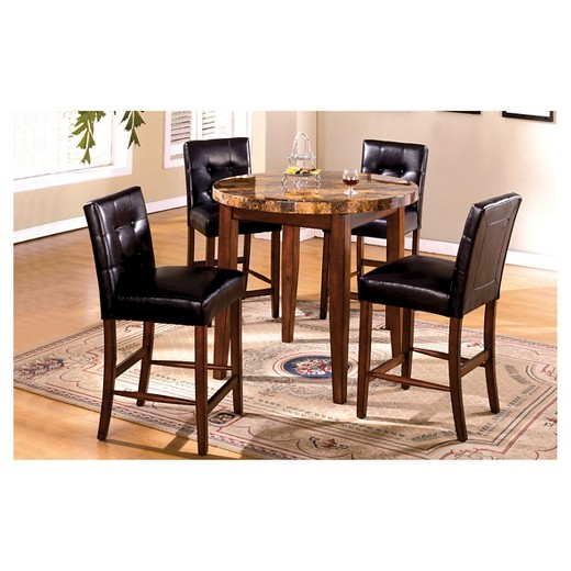 7 Piece 48 Inch Faux Marble Top Dining Table Set Dark Oak  : 50659147wid520amphei520ampfmtpjpeg from www.target.com size 520 x 520 jpeg 56kB