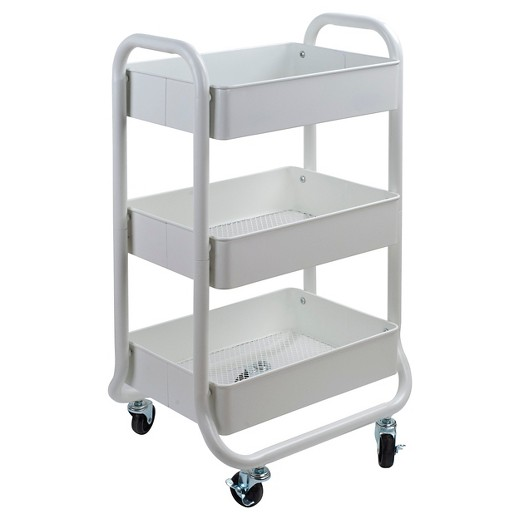 Storage Cart White