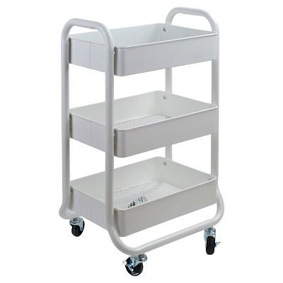 Great Storage Cart White   Room Essentials™