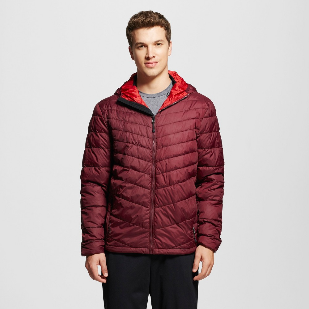 Mens Puffer Jackets - C9 Champion Rich Maroon S