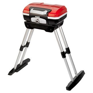 Cuisinart Petite Gourmet Portable Grill With Stand Model CGG-180 - Red