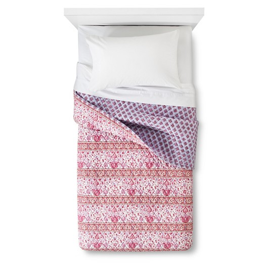 Coral Leela Quilt (Twin Extra Long) - John Robshaw® : Target : twin extra long quilt - Adamdwight.com