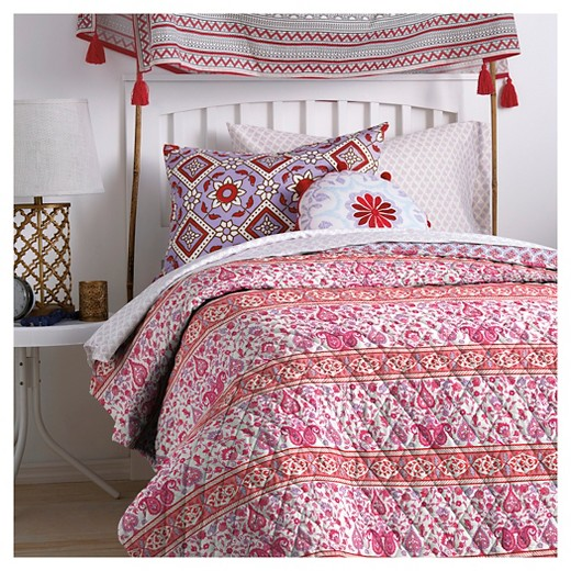 Coral leela quilt twin extra long john robshaw target for John robshaw sale bedding