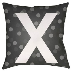 Dots&Kisses Throw Pillow - Surya