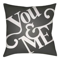 You & Me Throw Pillow - Surya