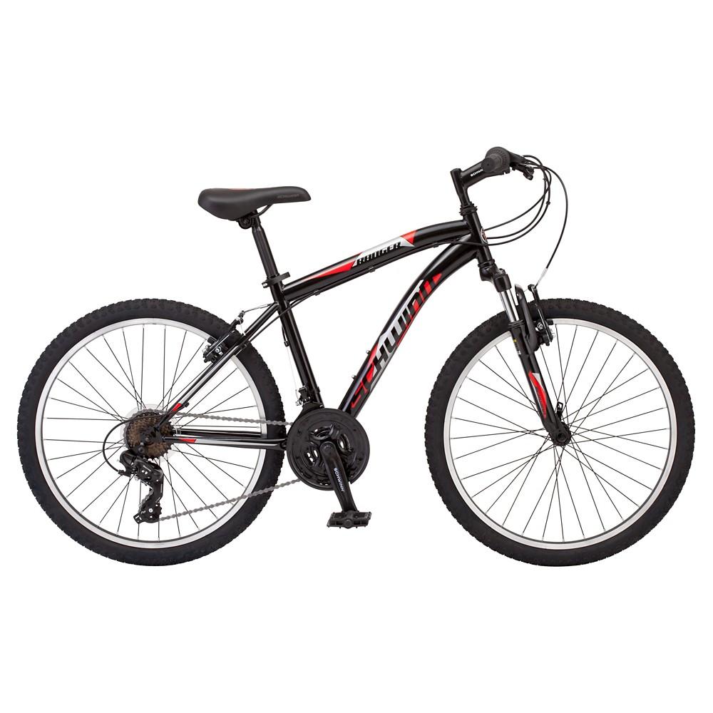 Schwinn Boys' Ranger 24 Mountain Bike- Black/Red