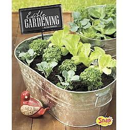 Edible Gardening ( Gardening Guides) (Hardcover)