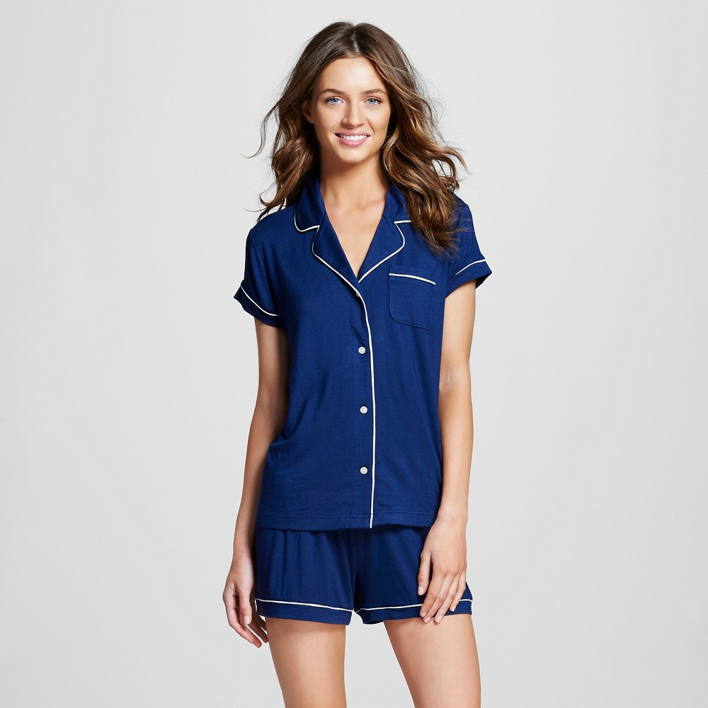 Womens Pajama Set Total Comfort - Nighttime Blue M