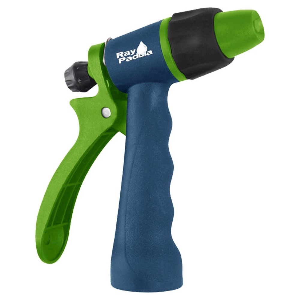 Ray Padula Adjustable Rear Trigger Hose Nozzle, Blue