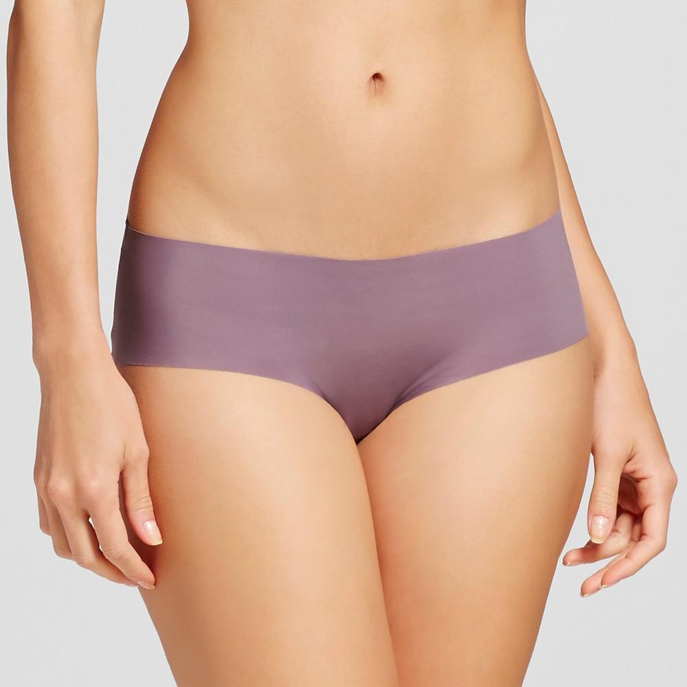 Women's No Show Laser Cut Hipster Plum Wink XL