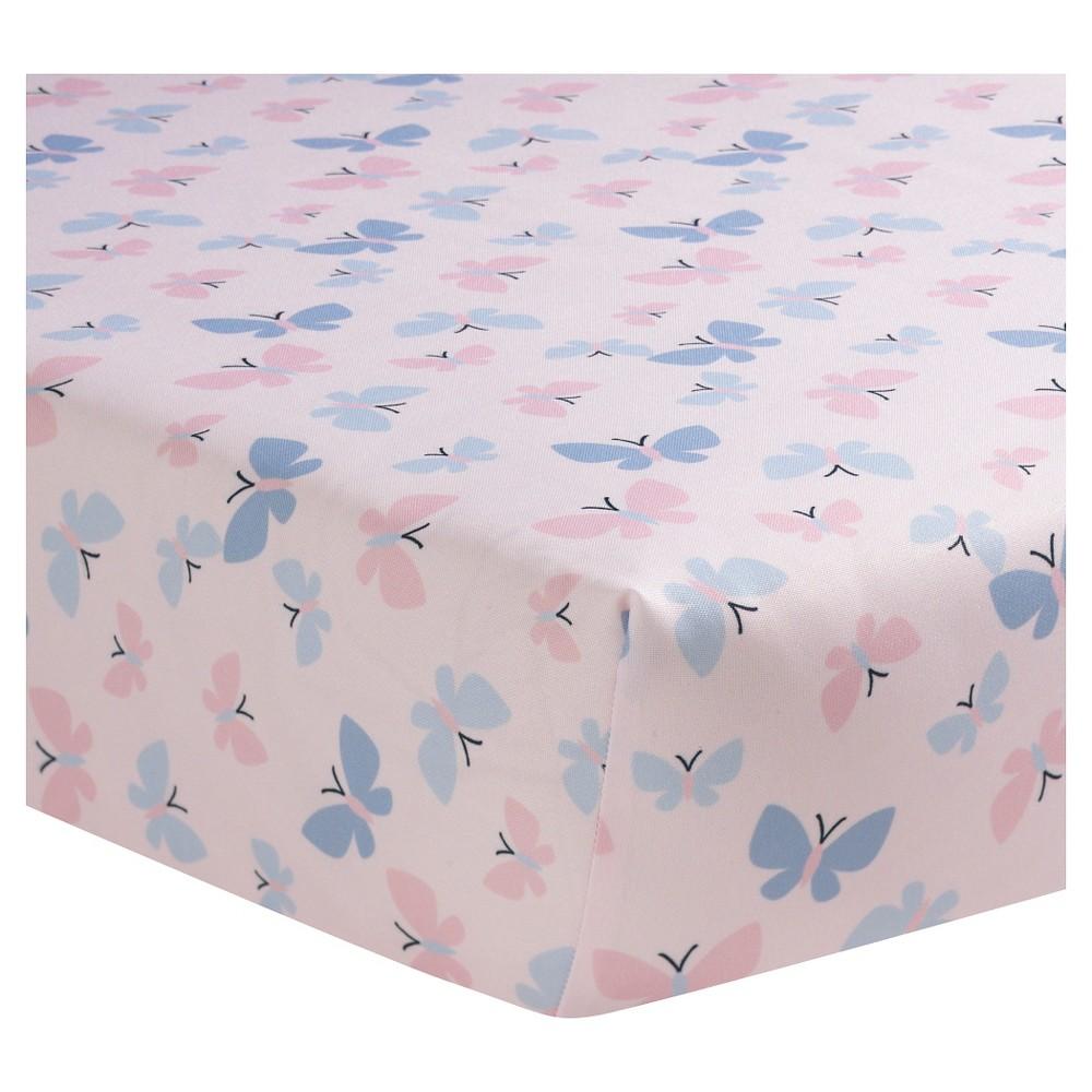 Bedtime Originals Crib Sheet – Butterfly Meadow