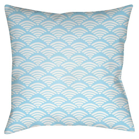 Scalloped Throw Pillow - Surya - image 1 of 2
