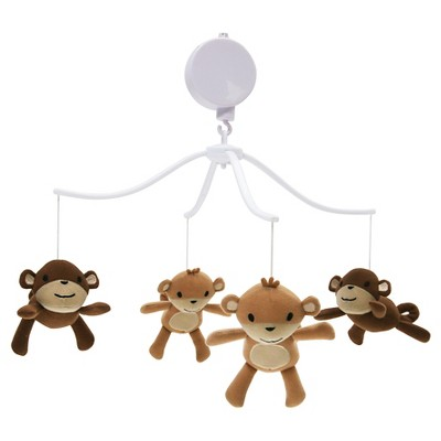Bedtime Originals Musical Mobile - Mod Monkey