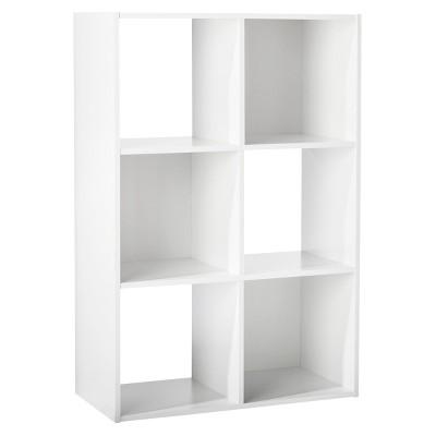 6-Cube Organizer Shelf 11  - Room Essentials™  sc 1 st  Target & Bookshelves u0026 Bookcases : Target