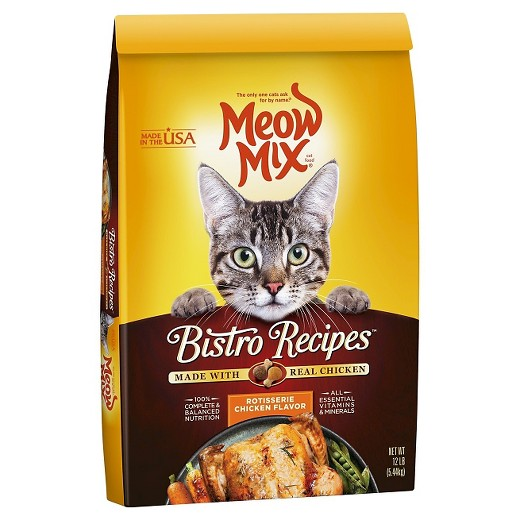 Meow mix bistro recipes rotisserie chicken dry cat food 12lbs meow mix bistro recipes rotisserie chicken dry cat food 12lbs forumfinder Choice Image