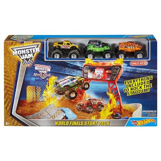 Hot Wheels Monster Jam World Finals Stunt Pack Play Set Target