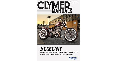 Clymer Manuals Suzuki LS650 Savage/Boulevard S40 1986-2015 (Paperback) (Ed Scott) - image 1 of 1