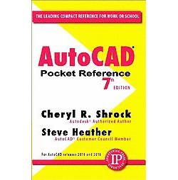 AutoCAD Pocket Reference (Paperback) (Cheryl R. Shrock)