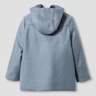 Toddler Boys' Toggle Coat Cat & Jack - Grey 5T, Toddler Boy's, Gray