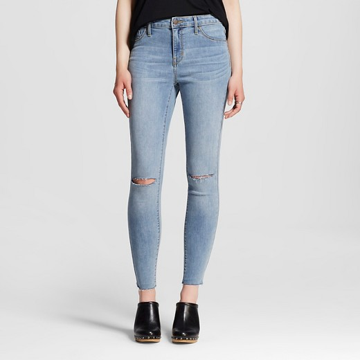 Women's High-rise Jegging Light Wash - Mossimo™ : Target