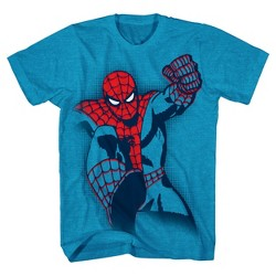 Boys' Marvel Spider-Man Graphic T-Shirt - Turquoise