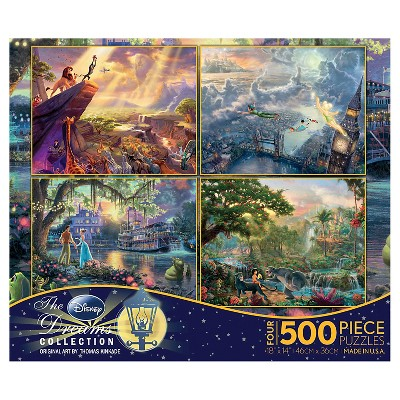 Disney 4/1 Multipack Puzzle Assortment Ceaco - 2000pc