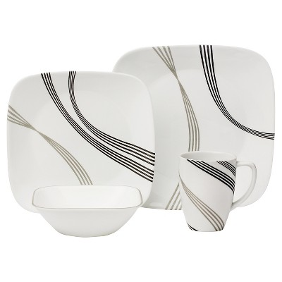 Corelle® Square™ 16pc Dinnerware Set Urban Arc