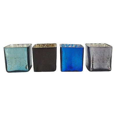 4pc Midnight Votive Set 2.5  - HomePort Collections®