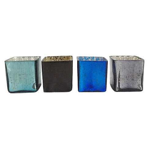"4pc Midnight Votive Set 2.5"" - HomePort Collections® - image 1 of 1"