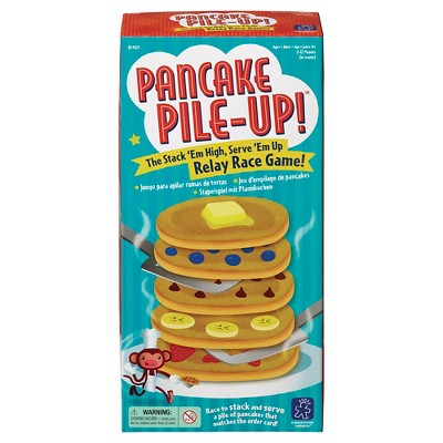 Educational Insights Pancake Pile-Up! Relay Race Board Game