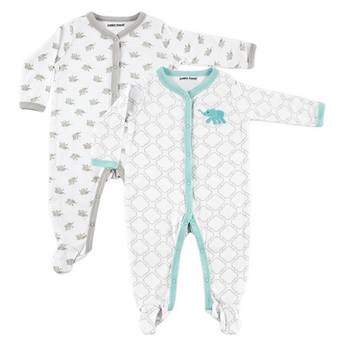 Luvable Friends Baby Boys' 2 Pack Sleep N' Play - Elephant - image 1 of 1