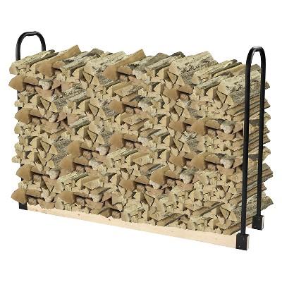 Pleasant Hearth Adjustable log rack - Black