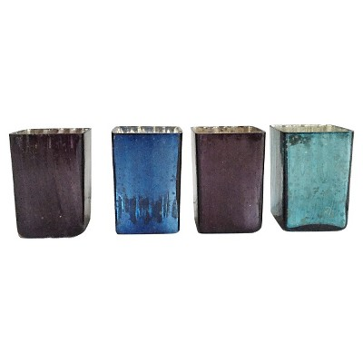 4pc Midnight Votive Set 3.5  - HomePort Collections®