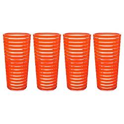 Zak Designs® Zak! 4pc 11.5oz Highball Tumblers Coral