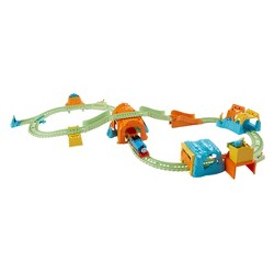 Fisher-Price Thomas & Friends Track Master Glowing Mine Set.
