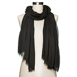 Women's Solid Oblong Scarf - Merona™