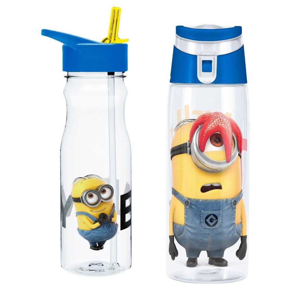 Despicable Me 2-pc Tritan Water Bottle Set 25oz, Blue