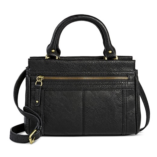 Women's Faux Leather Timeless Collection Mini Satchel Handbag ...
