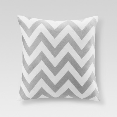 Gray Chevron Throw Pillow (20 x20 )- Threshold™