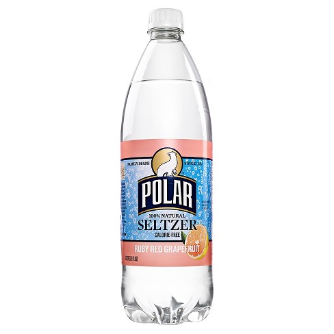 Polar Ruby Red Grapefruit Seltzer - 1 L Bottle - image 1 of 1