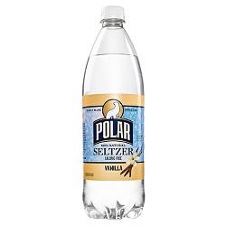 Polar Vanilla Seltzer - 1 L Bottle