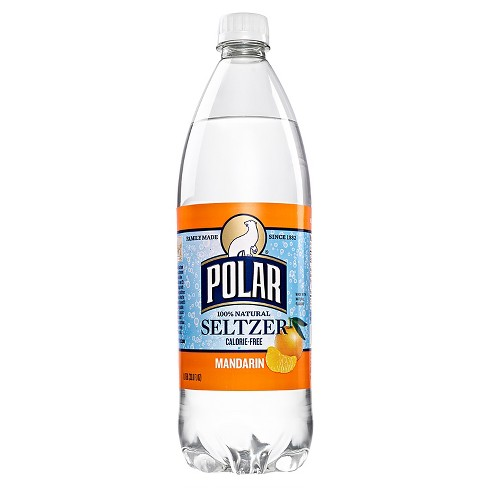 Polar Mandarin Seltzer - 1 L Bottle - image 1 of 1