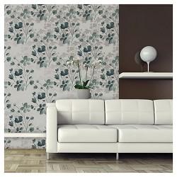 Devine Color Wildflower Peel & Stick Wallpaper - Sterling