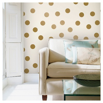Devine Color Dots Peel & Stick Wallpaper - Karat