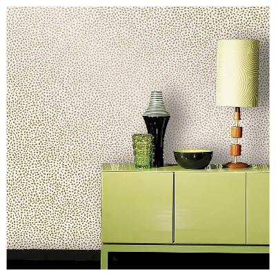 Devine Color Speckled Dot Peel & Stick Wallpaper - Karat