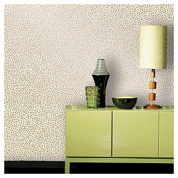 Devine Color Speckled Dot Peel & Stick Wallpaper - Karat